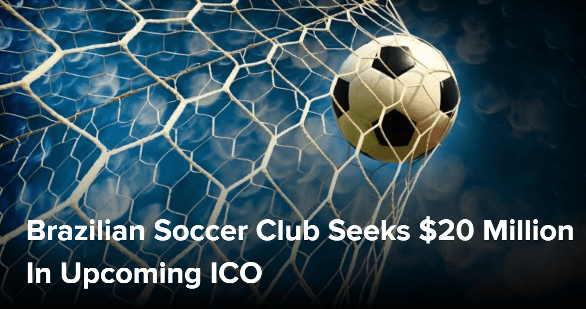 Brazilian football club goes to ICO
