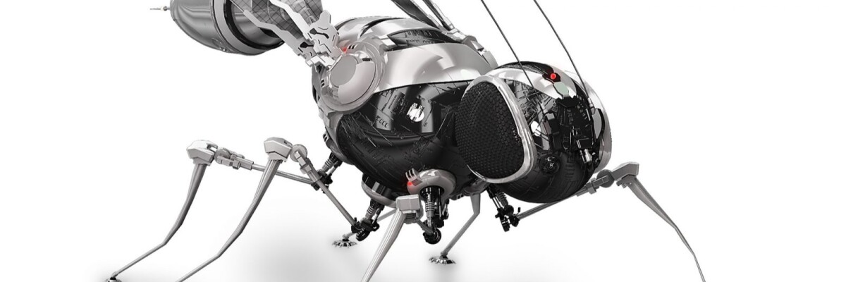 Dutch researchers have created a robot insect