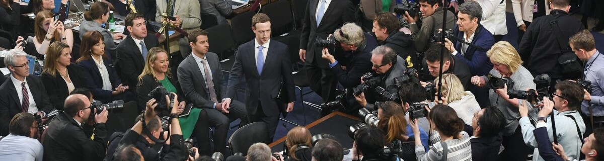 Zuckerberg appears in front of the U.S. Senate with apologies, and seems to have restored investor's confidence