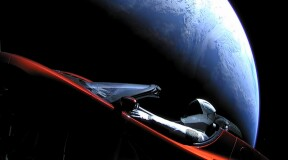 Falcon Heavy successfully launched the Elon Musk's cabriolet into space