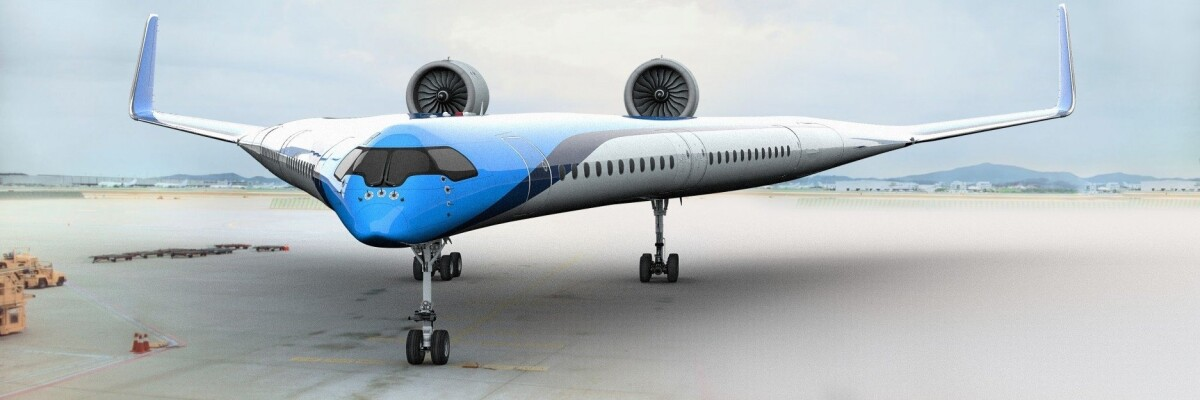Concept of Flying-V aircraft unveiled
