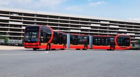 World's Largest and Most Spacious Electric Bus Presented in China