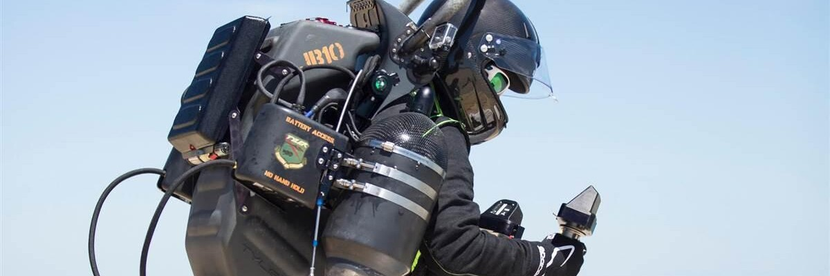 British company organizes first-ever jetpack race