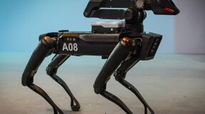 Boston Dynamics SpotMini Robots Try Themselves as Loaders