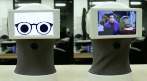 Peeqo: the robot that speaks in gifs