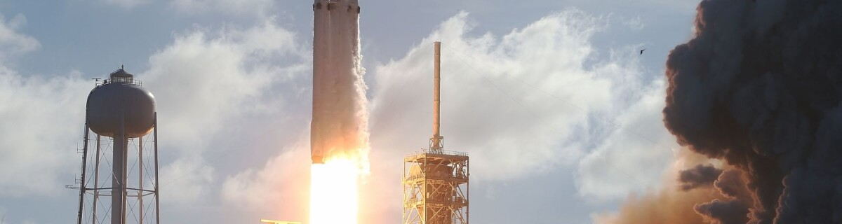 SpaceX's Falcon Heavy is on its third flight