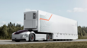 Volvo autonomous truck finds first application