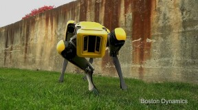 New robot SpotMini from Boston Dynamics: even more perfect and in a yellow case