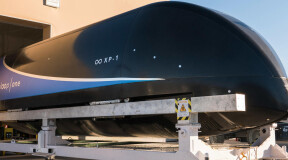 Новый рекорд Virgin Hyperloop One