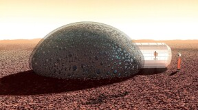 Mars X-House project: 3D-printed houses on Mars