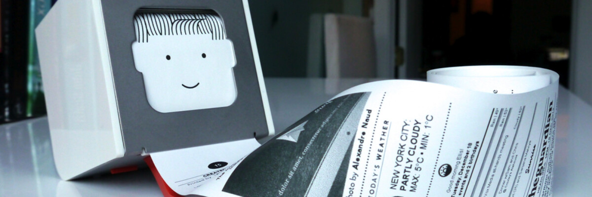 Little Printer: a new means of communication