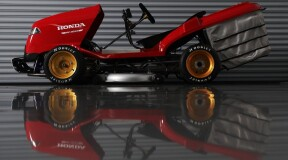Honda Mean Mower V2 Reclaims Its Title as the World's Fastest Lawn Mower