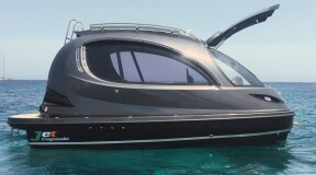 Jet Capsule Presents Its New Mini Yacht