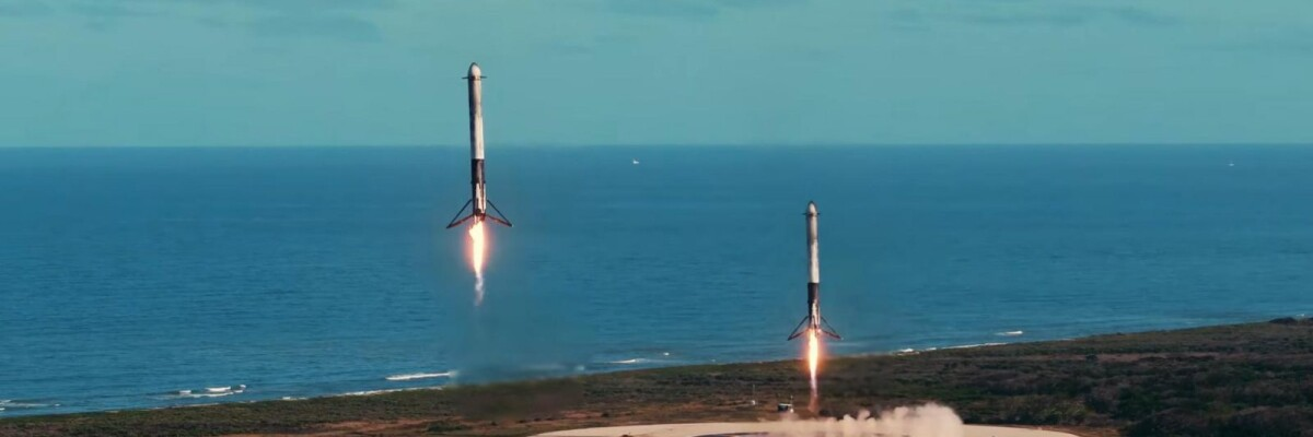 USA banned broadcasts of SpaceX launches. A special license is required