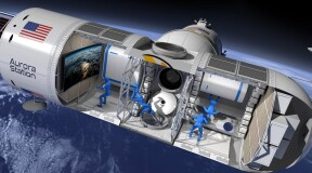 "The space hotel ""Aurora Station"" will be launched by 2022"