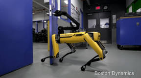 Boston Dynamics' Robots Learn Cooperation