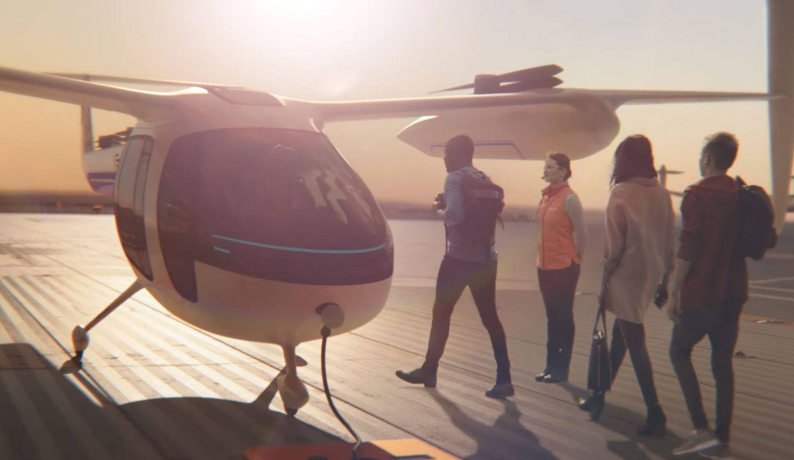 Uber and NASA will create a flying taxi