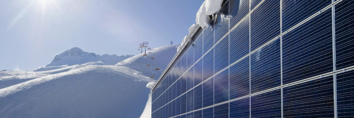 Solar batteries will generate power from snow