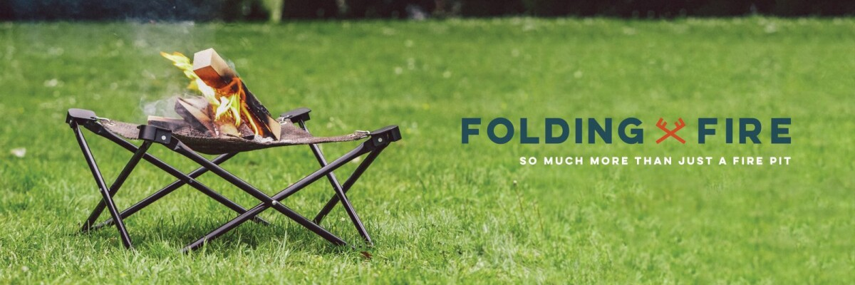 Folding Fire –  a campfire at your fingertips