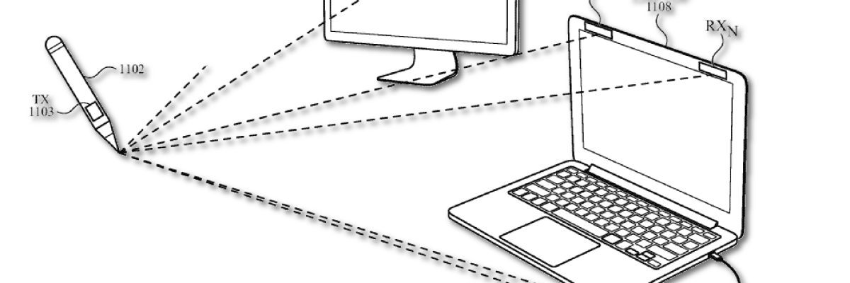 Apple patents a non-contact stylus