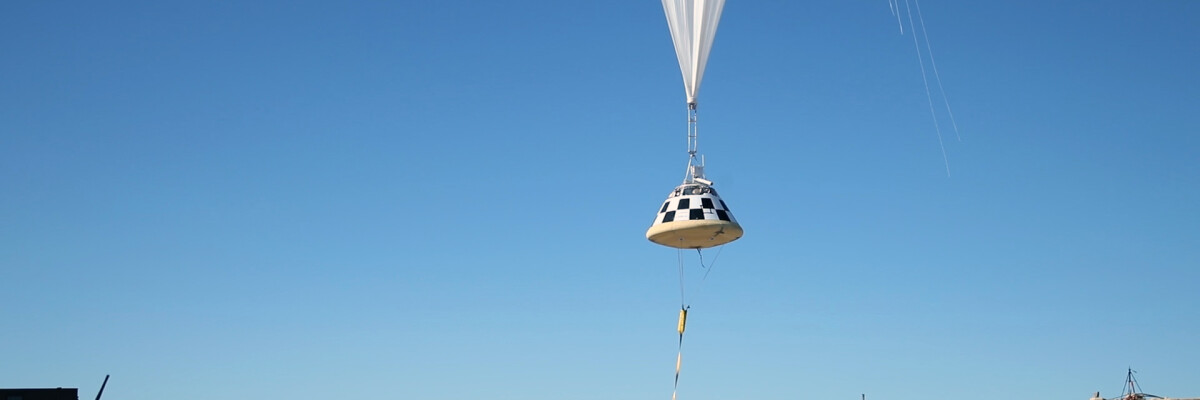 Starliner successfully tests parachutes