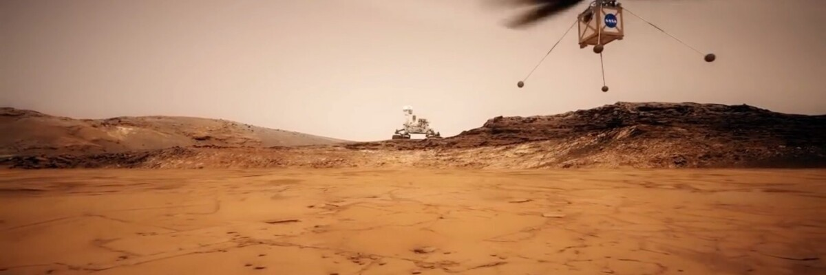 Mars-bound Helicopter Passes First Tests