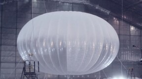Google hot air balloon provided 223 days of Internet connection