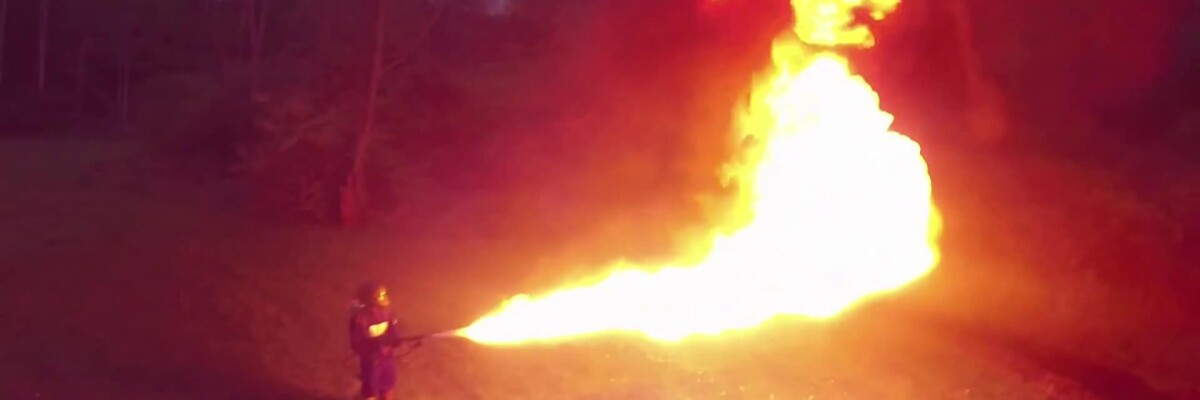 Drones Can Now Spew Flames Like Real Dragons