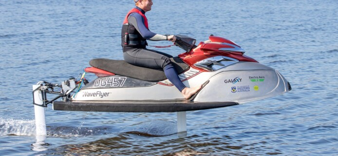 WaveFlyer - the flying jetski