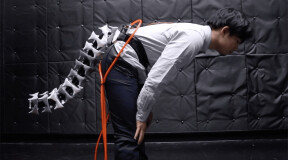 Japanese scientists develop robotic tail that improves balance