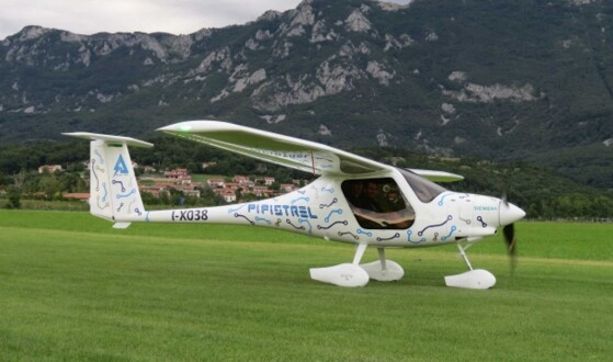 The world's first electric plane crashes