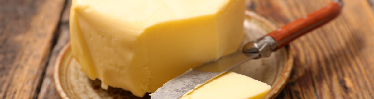 Butter without fat: how is that possible?