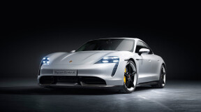 Taycan is Porsche's first production electric car