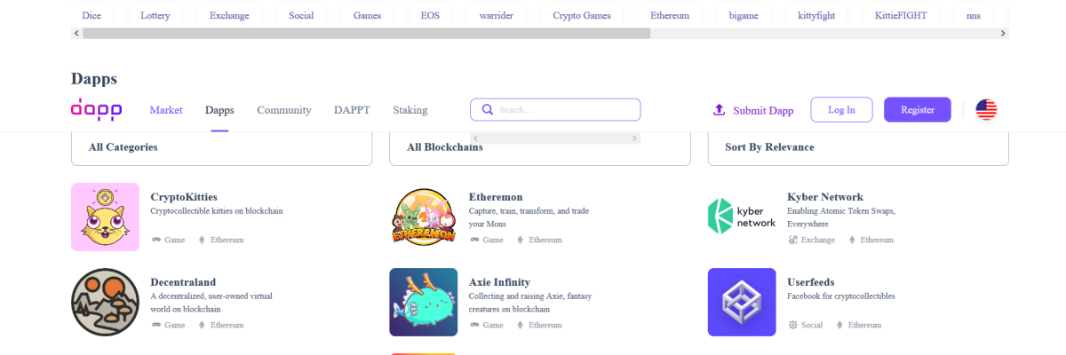 Decentralized app store Dapp.com attracts $1 million in funding