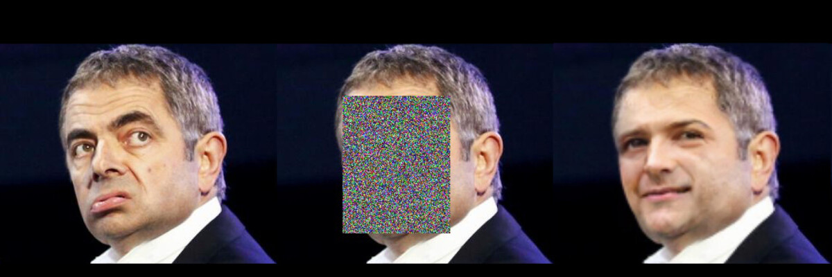 'Deepfake' instead of pixels on your face