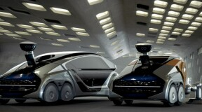 Modular robotic vehicle Citybot will replace all other city vehicles and end traffic jams