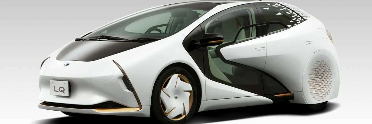 Toyota LQ concept car will be equipped with next-generation virtual assistant
