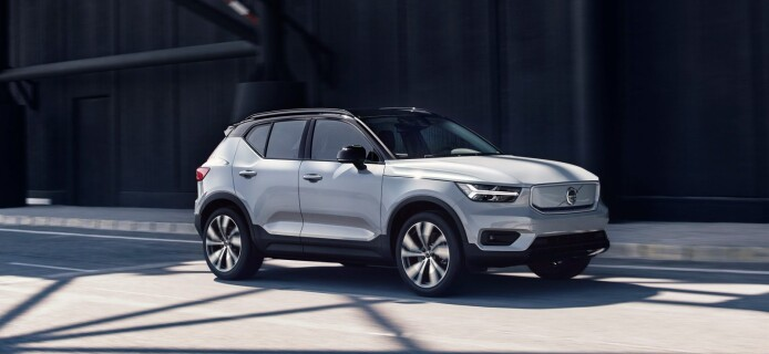 Volvo Unveils Its First Electric Car, XC40 Recharge