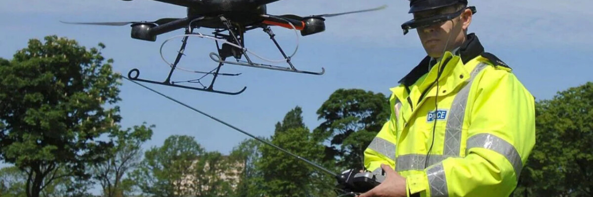 New police drones are to help find missing people