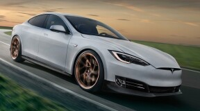 A software update allows the Tesla Model S to break the Porsche Taycan Turbo record
