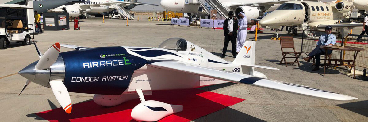 Airbus unveils the world's first electric racing aircraft