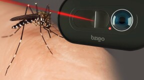 Go mosquito hunting with a Bzigo laser detector