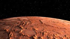 New Photos of Martian Ice Cap Released