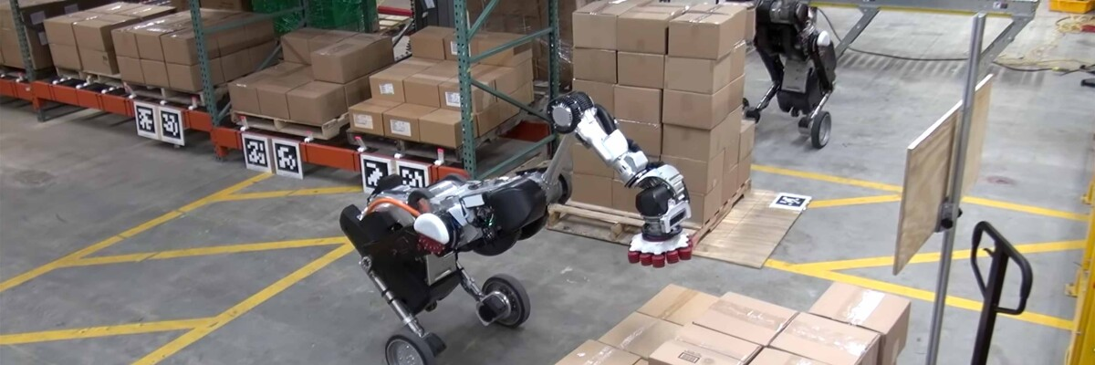 Boston Dynamics and OTTO Motors have teamed up to create an authentic 21st Century warehouse.