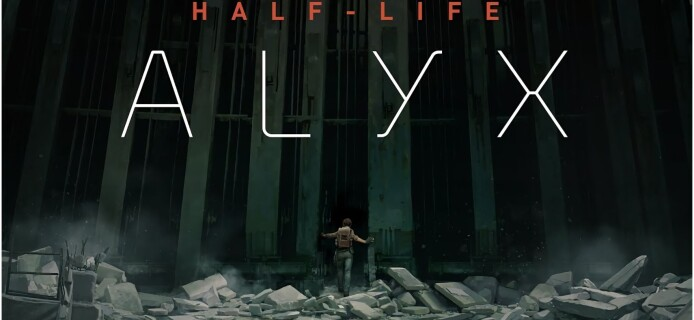 Teacher gives a mathematics lesson in Half-Life: Alyx