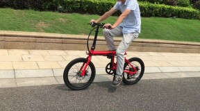 HiMo Introduces New Folding Electric Bike