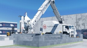 Australia creates Hadrian X, a bricklaying robot