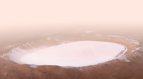 ESA shows the most beautiful crater on Mars
