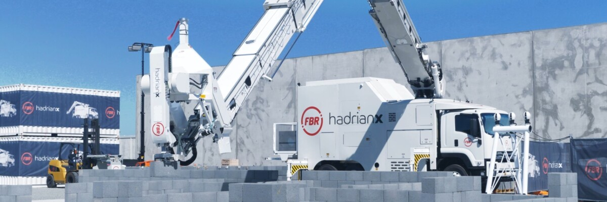 Robot builder Hadrian X has finished building its first house