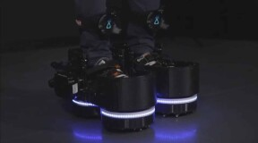 Ekto One boots help you fully immerse yourself in virtual reality
